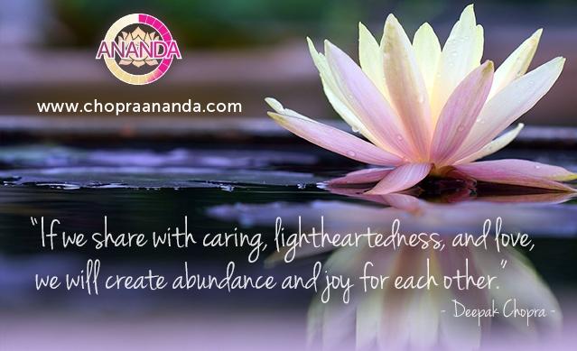 Creating Abundance and Joy - Deepak Chopra™️